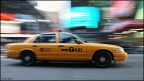 moving yellow cab
