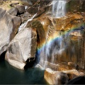 vernal fall rainbow